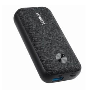 Anker PowerCore Metro 10000 PD - Black Fabric