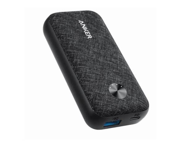 Anker PowerCore Metro 10000 PD - Black Fabric