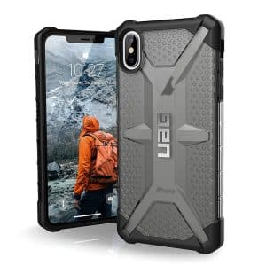 UAG Plasma Series Case for iPhone XS Max Ash