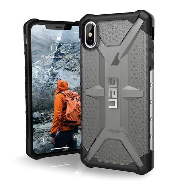 UAG Plasma Series Case for iPhone XS Max Ash