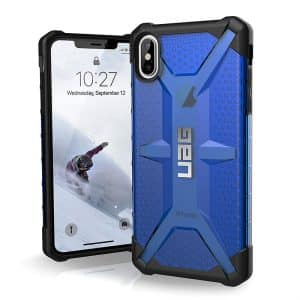 UAG Plasma Series Case for iPhone XS Max Cobalt