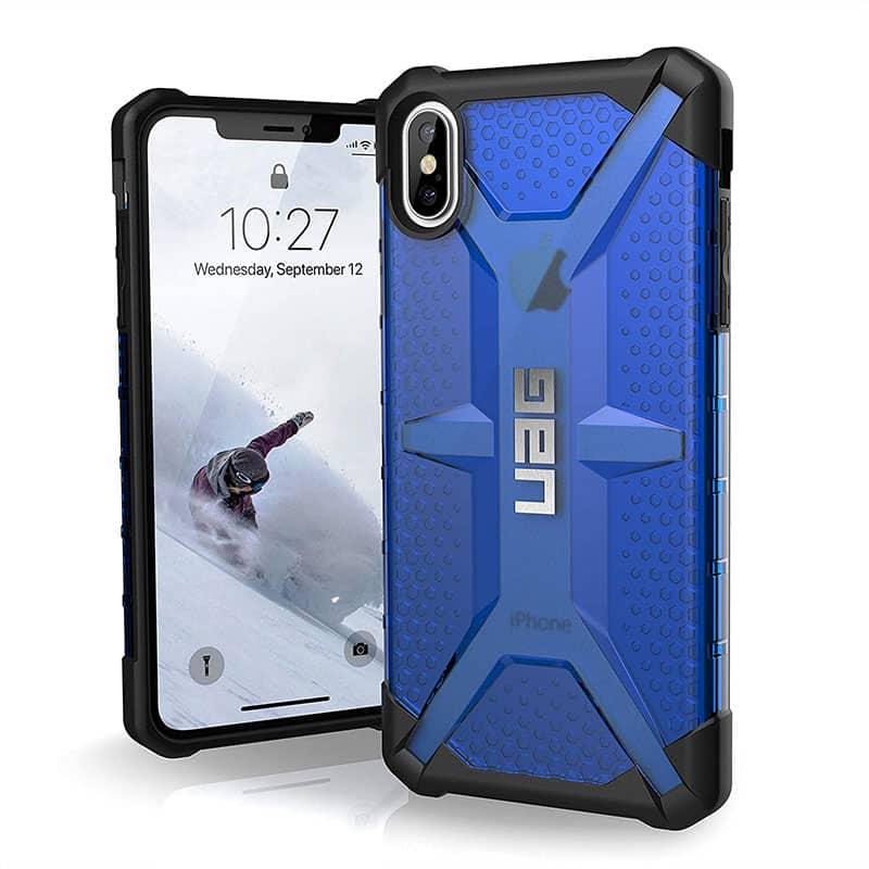 UAG Plasma Series Case for iPhone XS Max Cobalt
