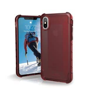 UAG Plyo Series Case for iPhone X/Xs - Crimson