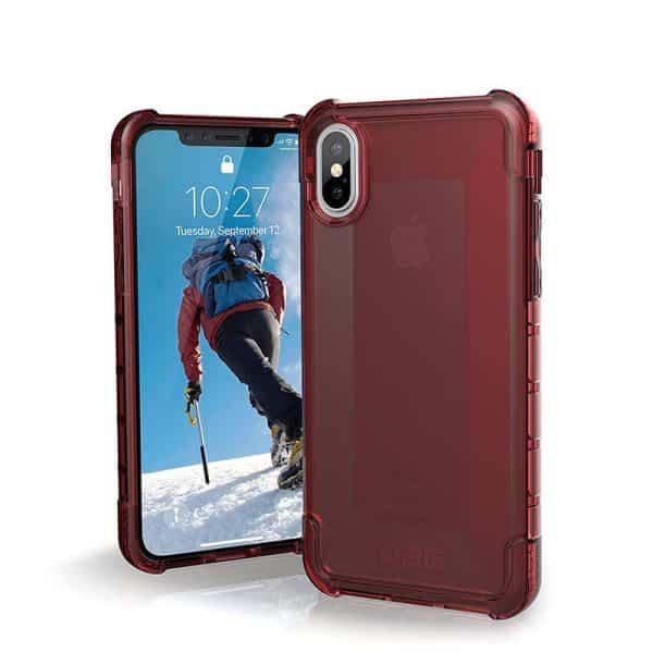 UAG Plyo Series Case for iPhone X/Xs - Crimson