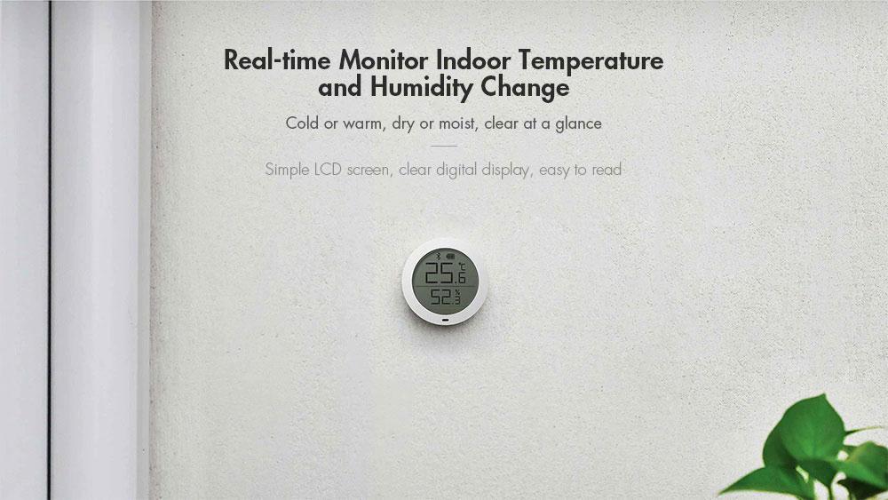 Xiaomi Mi Temperature and Humidity Monitor Real-time Monitor Indoor Temperature and Humidity Change