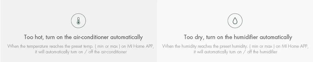 Xiaomi Mi Temperature and Humidity Monitor Too Hot Too Dry