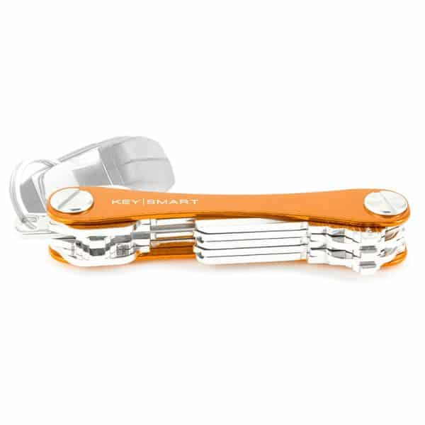 KEYSMART Compact Key Holder - Orange