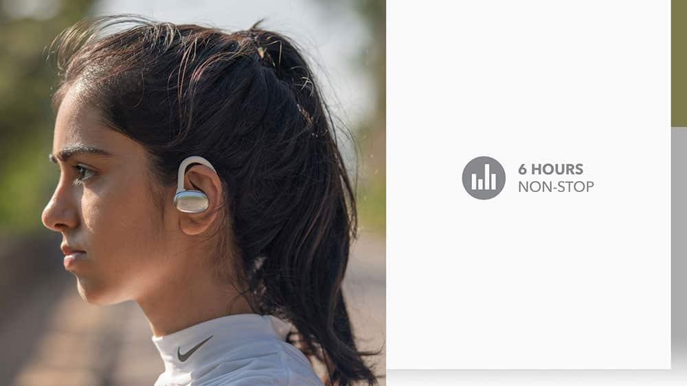 MOMAX JOYFIT True Wireless Bluetooth Earbuds 6 Hours Non Stop