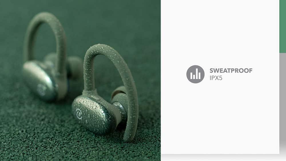 MOMAX JOYFIT True Wireless Bluetooth Earbuds Sweat Proof IPX5