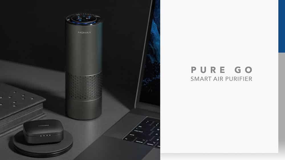 MOMAX Pure Go Portable Smart Air Purifier