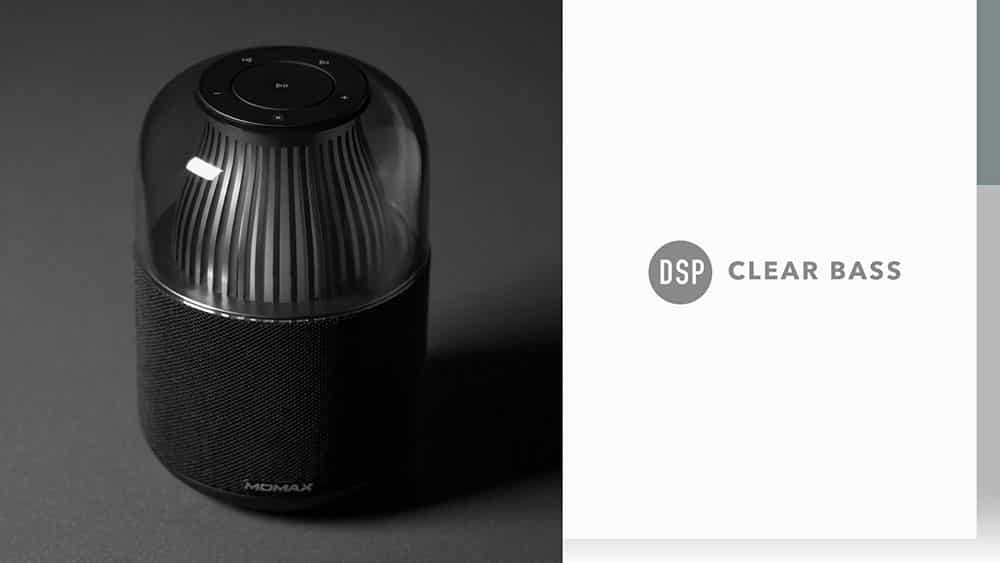 MOMAX SPACE Wireless Speaker with DSP Clear Bass
