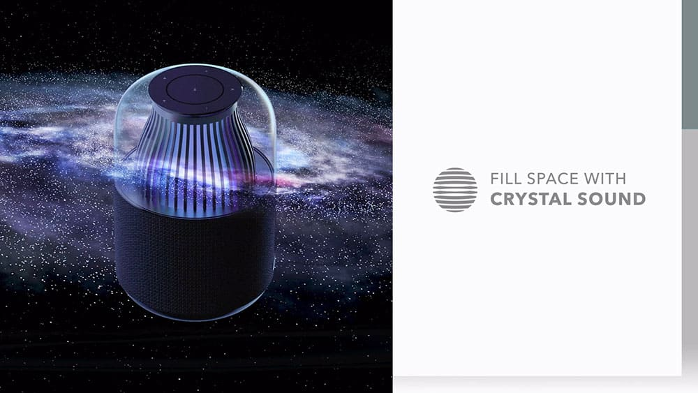 MOMAX SPACE Wireless Speaker Fill Space with Crystal Sound