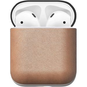 NOMAD Airpods Case Natural Horween Leather