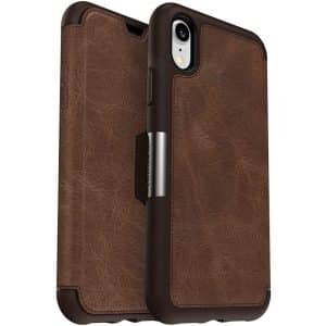 OtterBox Strada Series Folio Case for iPhone XR Espresso