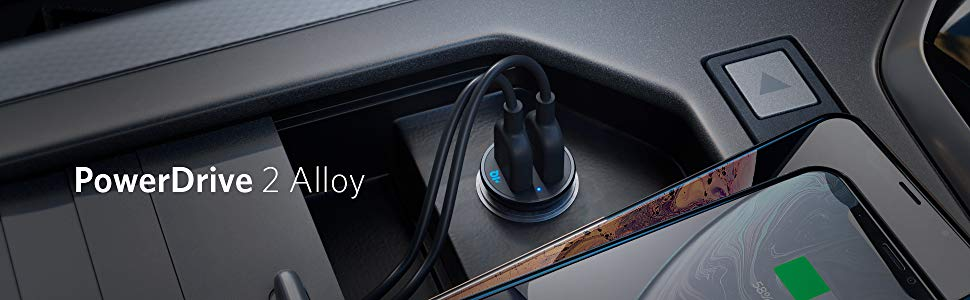 Anker PowerDrive 2 Alloy