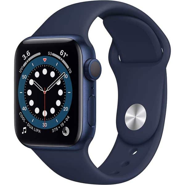 Apple Watch Series 6 GP 40mm Blue Aluminum Case with Deep Navy Sport Band