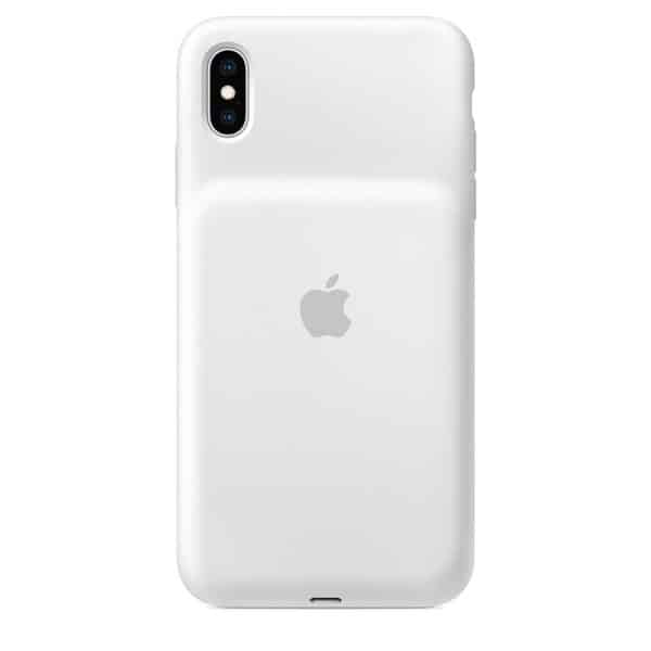 Apple iPhone XS Max Smart Battery Case White