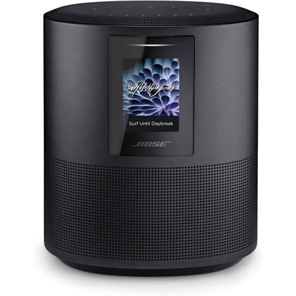 Bose Home Speaker 500 with Alexa Voice Control Built-in Triple Black