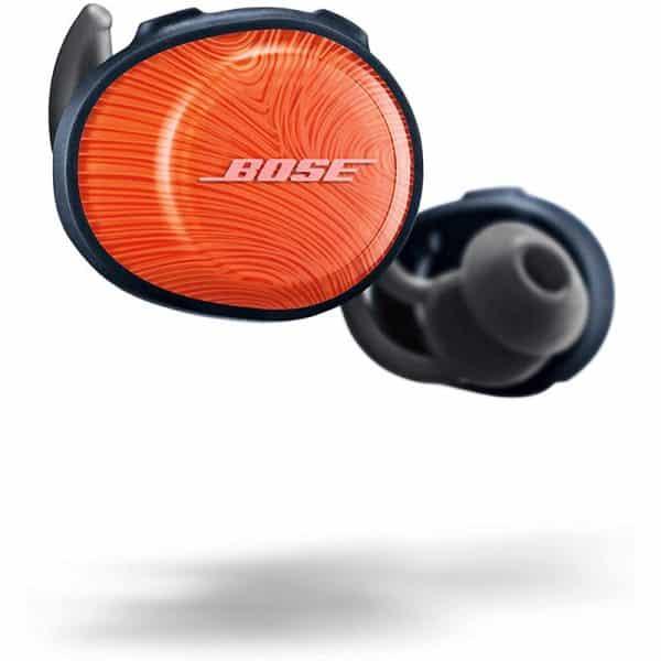 Bose SoundSport Free, True Wireless Earbuds, (Sweatproof Bluetooth Headphones for Workouts and Sports), Bright Orange