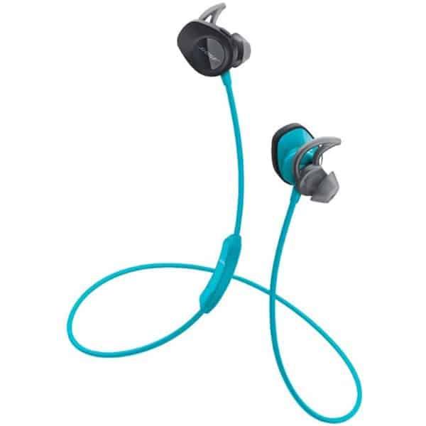 Bose SoundSport Wireless Headphones, Wireless Earbuds, (Sweatproof Bluetooth Headphones for Running and Sports), Aqua