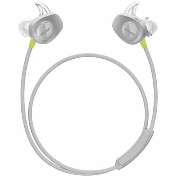 Bose SoundSport Wireless Headphones, Wireless Earbuds, (Sweatproof Bluetooth Headphones for Running and Sports), Citron