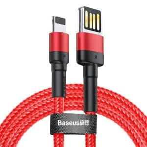 Baseus Cafule Cable Special Edition for iP Red