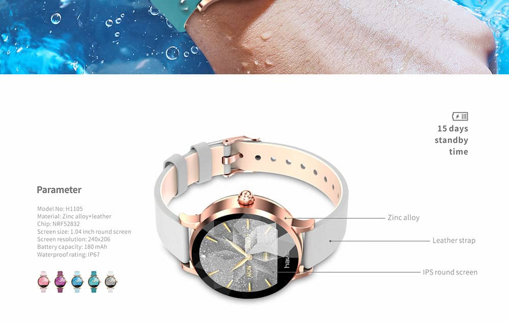 Apple Watch Series 5 Gold Aluminium Case with Pink Sand
