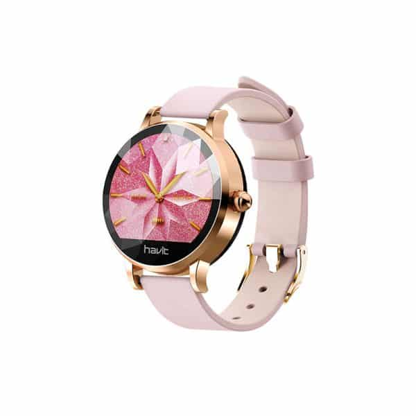 HAVIT Ladies Smart Watch, Smart Bracelet, Female Physiological Cycle, H1105, Pink