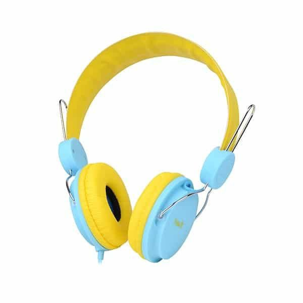 HAVIT Wired Headphone with Mic HV-H2198d - Yellow/Blue