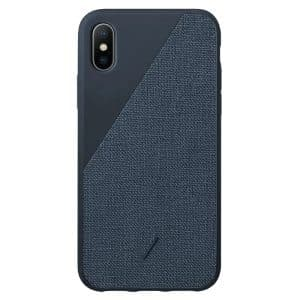 Native Union Clic Canvas Case for iPhone XS Max Navy