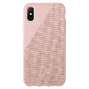 Native Union Clic Canvas Case for iPhone XS Max Rose