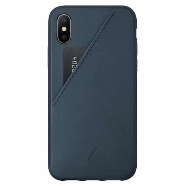 Native Union Clic Card Case for iPhone XS Max Navy