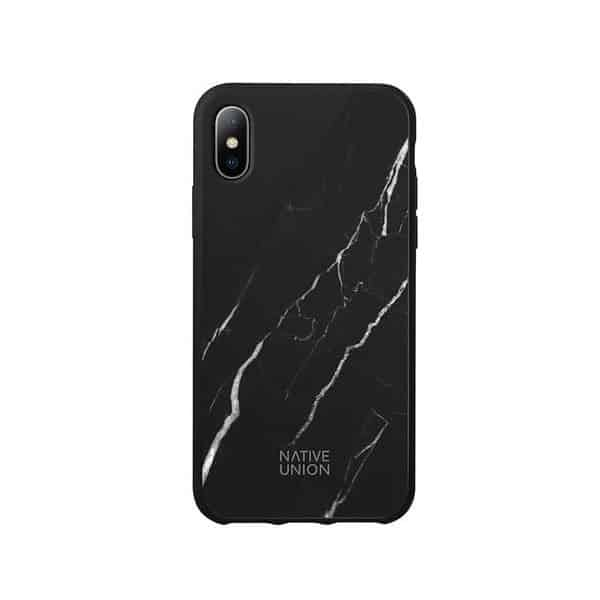 Native Union Clic Marble Case for iPhone X/XS - Black