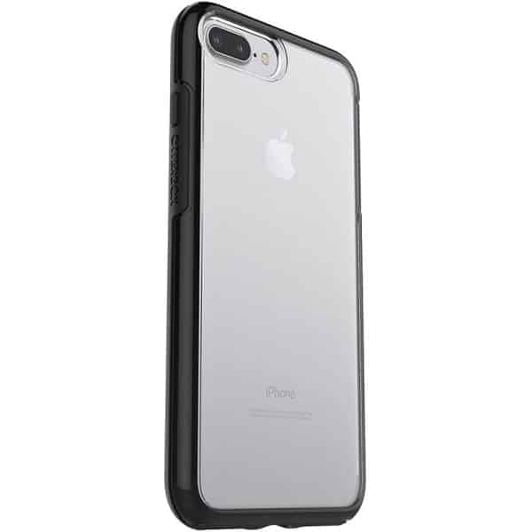 OtterBox Symmetry Series Clear Case for iPhone 7 Plus & 8 Plus Black Crystal