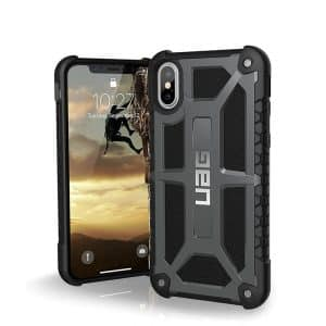 UAG Monarch Series Case for iPhone X/Xs - Graphite
