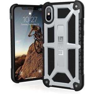 UAG Monarch Series Case for iPhone X/Xs - Platinum