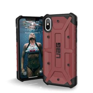 UAG Pathfinder Series Case for iPhone X/Xs - Carmine