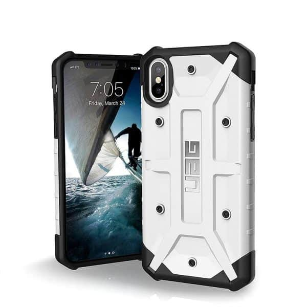 UAG Pathfinder Series Case for iPhone X/Xs - White/Silver