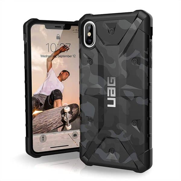 UAG Pathfinder Series Case for iPhone XS Max Midnight Camo