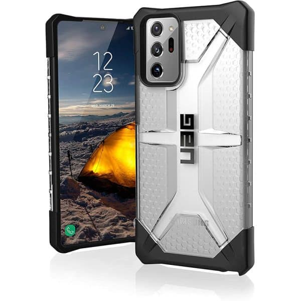 UAG Plasma Series Case For Samsung Galaxy Note20 Ultra 5G - Ice