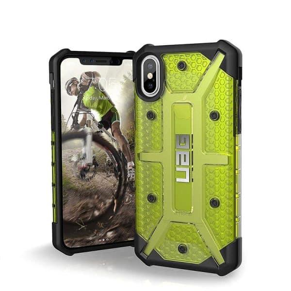 UAG Plasma Series Case for iPhone X/Xs - Citron
