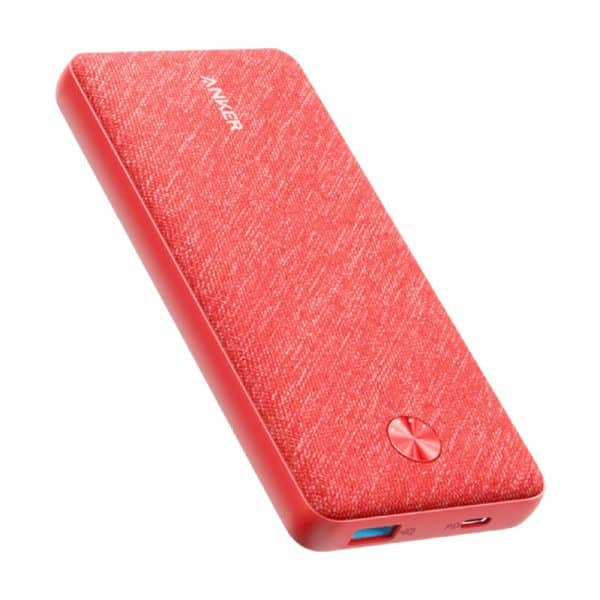 Anker PowerCore Metro Essential 20000 PD Pink Fabric