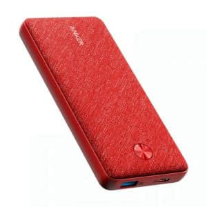 Anker PowerCore Metro Essential 20000 PD Red Fabric