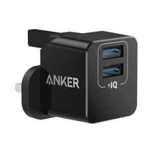 Anker PowerPort mini Dual Port USB Charger Black
