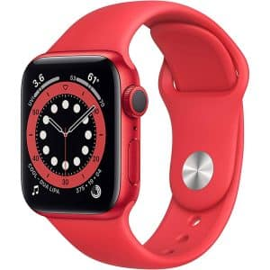 Apple Watch Series 6 GPS 40mm (Product) RED Aluminum Case with (Product) RED Sport Band
