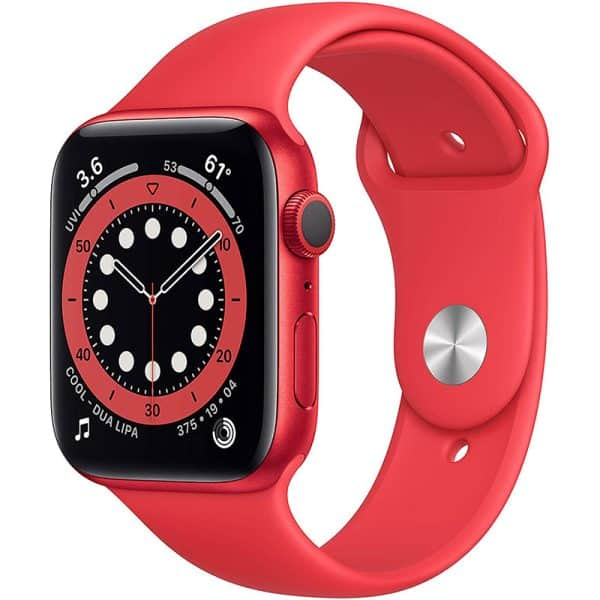 Apple Watch Series 6 GPS 44mm (Product) RED Aluminum Case with (Product) RED Sport Band