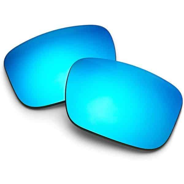 BOSE Tenor Polarized Square Replacement Sunglass Lenses Mirrored Blue