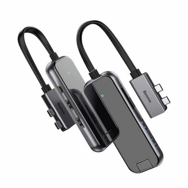 Baseus USB Type-C Multifunctional HUB Adapter Gray