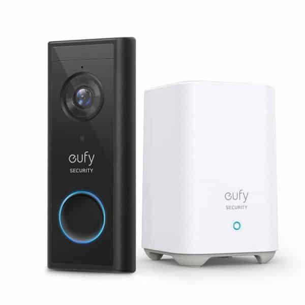 Eufy Video Doorbell 2K HD (Battery-Powered)