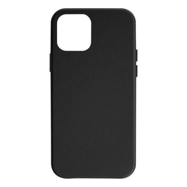 JCPal iGuard Moda Case for iPhone 12 mini 5G Leather Style Slim Shell Black